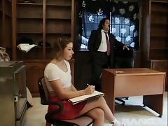 Substitute teacher Ron Jeremy fucks his favorite student tube porn video