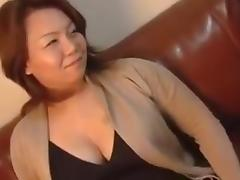 Japanese Chubby Mature Creampie Rie 37years tube porn video