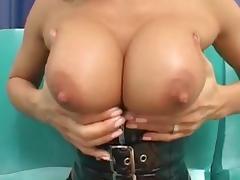 Sandra Romain latex hardcore fucking tube porn video