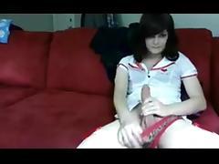 Aeroclam's autofellatio and cumshot tube porn video