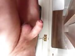 Gay solo male is jerking his schlong tube porn video