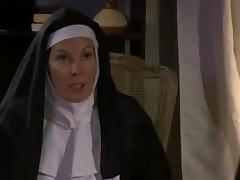 Horny Mature Nun and Bitch Lesbian Sex (roleplay) tube porn video