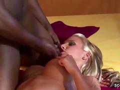 German Teen get Anal Fuck by Black Man tube porn video