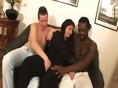 ITALIAN BBW MILF FUCKED BY TWO MEN tube porn video