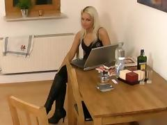 I'm fucked in doggy in my big tit amateur video clip tube porn video