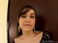 Sasha Grey lets him fuck her feet and and her wet mouth tube porn video