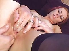Skinny redhead analized to the max tube porn video