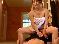 Gorgeous French Milf And Young Guy tube porn video