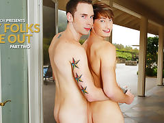 Tripp Townsend & Damian Black in My Folks Are Out, Part Two XXX Video tube porn video