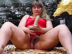 Eros & Music - BBW Blonde Smokes , Hairy Pussy tube porn video