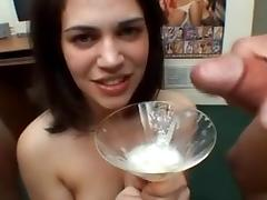 38 delicious girls gargle & swallow 287 cumshots tube porn video