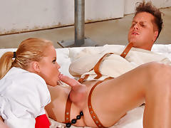 Nikki D & Parker London in Crazy Fucker Video tube porn video