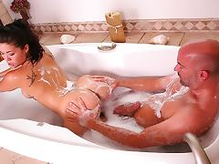 London Keyes in The Soapy Rest Stop Video tube porn video