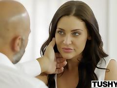 TUSHY Student Gracie Glam Takes Anal From Older Guy tube porn video