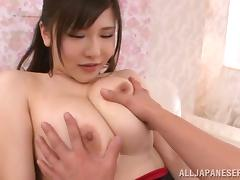 sexy japanese slut loves to have her mammaries played with tube porn video
