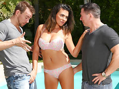 Danica Dillon, John Strong, Erik Everhard in DP My Wife With Me #06,  Scene #03 tube porn video