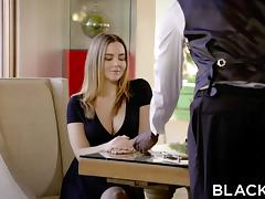 BLACKED Naughty Girlfriend Natasha Nice Enjoys BBC tube porn video