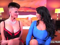 Joslyn James and Amy Anderson Take Turns Giving Orgasms tube porn video