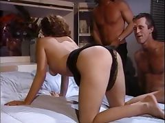 Wife gets fucked by husband and his friend tube porn video