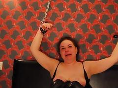 Ugly Arab Russian Slut Chained up Face Fucked CIM BDSM tube porn video