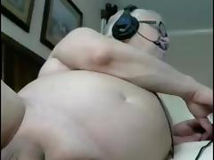 sexy grandpa play and cum in cam tube porn video