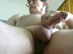grandpa stroke on cam (no cum) 1 tube porn video