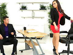 Tyler Steel & Sydney Leathers in Loving leather - BigTitsBoss tube porn video