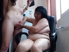 Russian lesbian mom webcam show tube porn video
