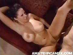 amazing girl with super boobs fucks tube porn video