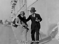 Old Man Fucks Hot Girls in Town 1920s (1920s Vintage) tube porn video