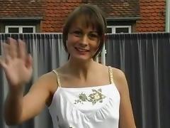 Nessi and Simone in a fffm tube porn video
