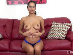 Latina offers her beautiful body to him for hardcore fucking tube porn video
