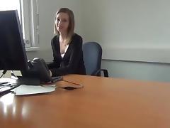 Office sex with austrian girl tube porn video