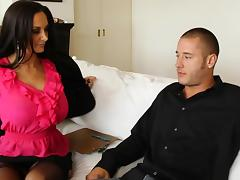 Seduced by a cougar Ava Addams tube porn video