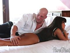 Passionately fucking big breasted milf pornstar Lisa Ann tube porn video