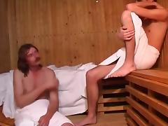 what happens in the sauna. stays in the sauna tube porn video