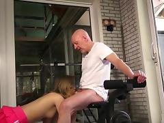 Hardcore at the gym along slutty amateur Candice tube porn video