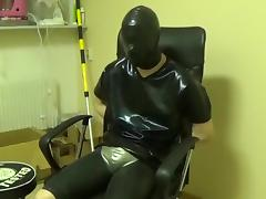 chair tied tube porn video