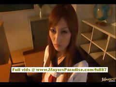 Rio Hamasaki and Kirara Asuka asian fondle each others big tits tube porn video