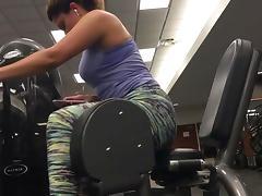 Candid spandex gym #06 tube porn video