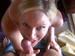 stepMom Gives stepson A Blowjob In Yoga Pants tube porn video