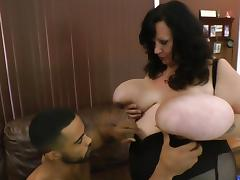 Enormous boobs getting handled tube porn video