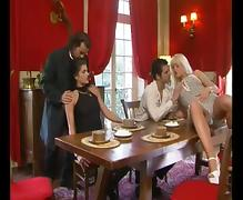Italian 4some FFMM Sex tube porn video