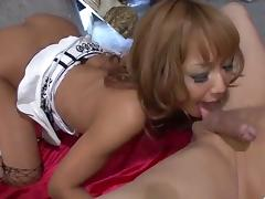Strong porn adventure along superb milf, Kyoko tube porn video