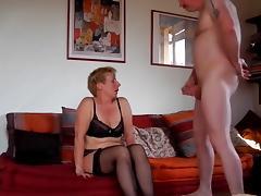 Milf sucks fucks and squirts tube porn video
