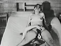 lesbo action in latest 50s tube porn video