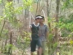 fuck in the forest tube porn video