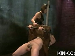 Pretty hot babe gets punished tube porn video