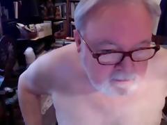 Grandpa show on cam tube porn video