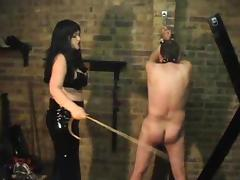 FM Caning using different implements tube porn video